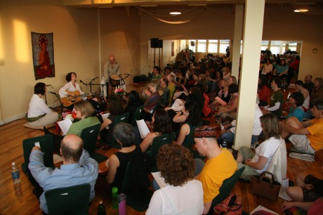 Kirtan at Lotus Centre, London, ON with Allison Menegoni and Rob Menegoni