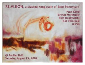 Re:Vision - A Seasonal Song Cycle with Penn Kemp and Brenda McMorrow